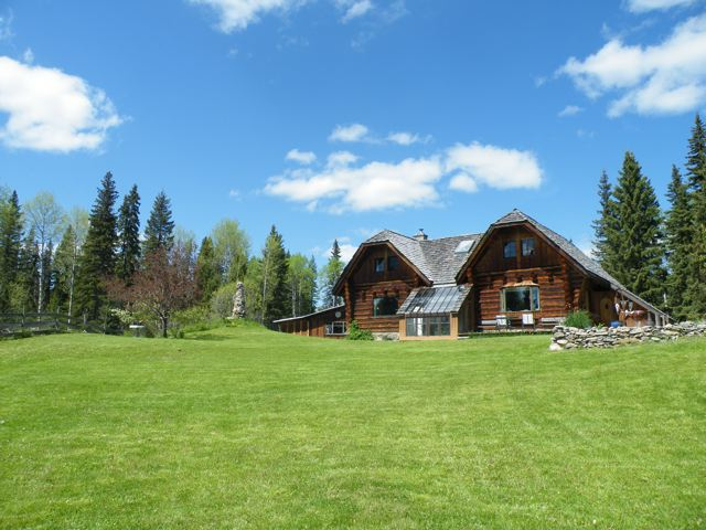 1500 Acre Woodlot with Log Home & Saw Mill - 2898 Swan Road, Big Lake Ranch BC