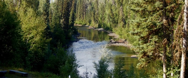 Family Home with 4.7 acres on Horsefly River - 3479 Little Horsefly Road, Horsefly, BC