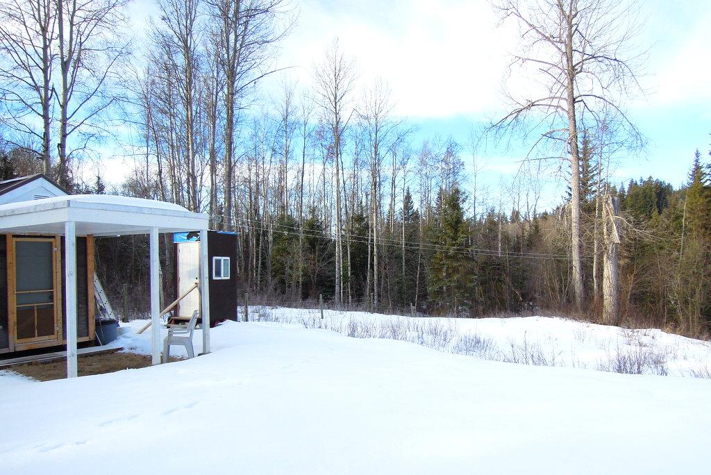 Land for Sale near Horsefly Lake with Travel Trailer & Shelter - Lot 16 Horsefly Landing Road
