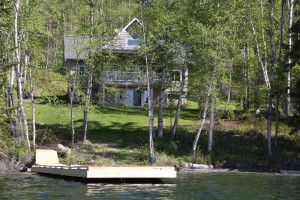 Custom-Built Waterfront Home on Crystal Clear Horsefly Lake - 3548 Hatchery Road, Horsefly BC
