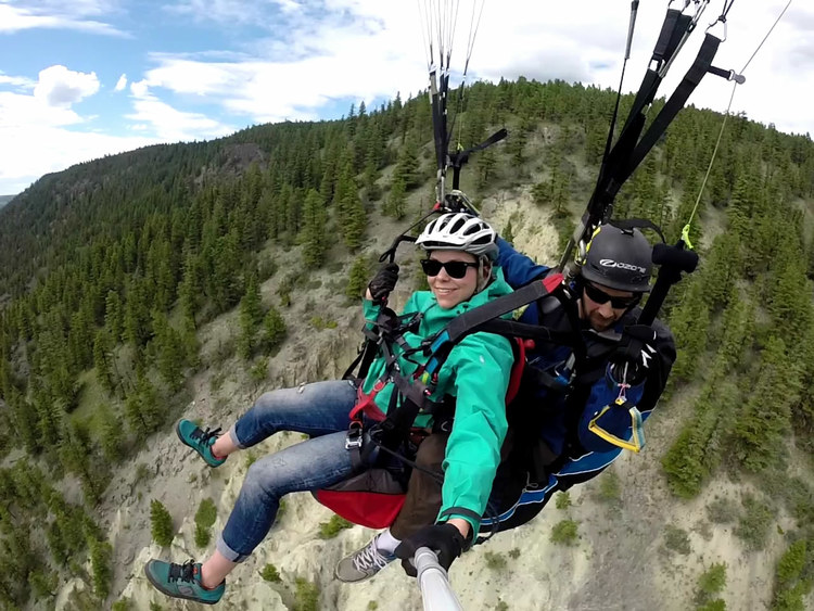 HillBilly Paragliding - Horsefly, BC