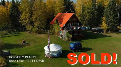 SOLD! 2211 Doyle Road - Horsefly Realty