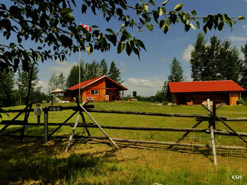 404 Acres Ranch/Farm with House and Hay Land- 5525 Ridley Road, Horsefly BC