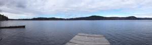 100 feet waterfront on Horsefly Lake